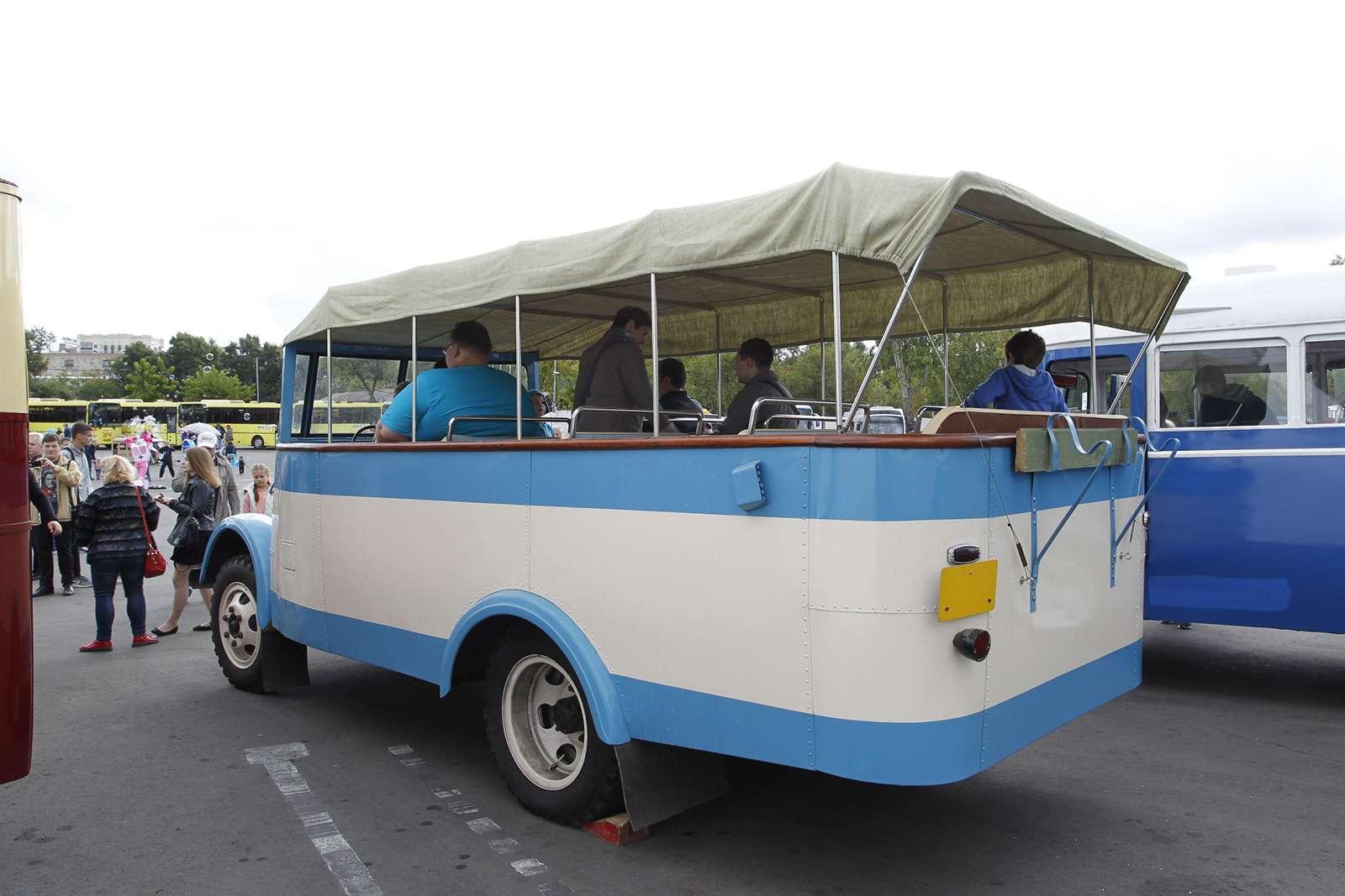 Автобусы нашего детства— выставка пассажирского транспорта— фото 792651