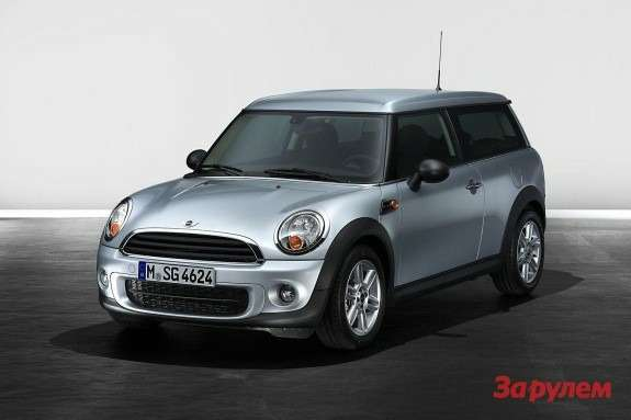 Mini Clubman side-front view