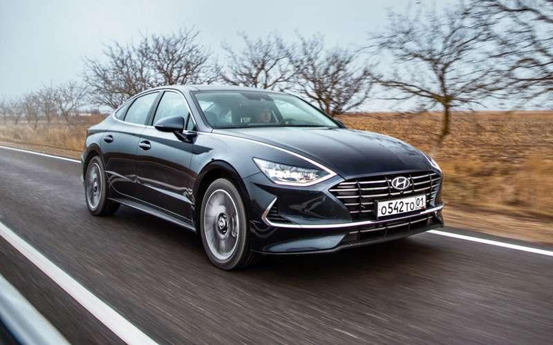 Новая Hyundai Sonata с2-литровым мотором «доехала» доРоссии