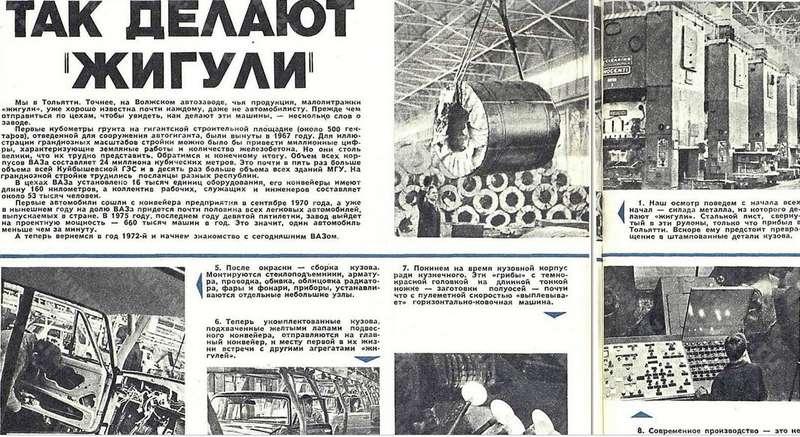 «За рулем» за 1972 год