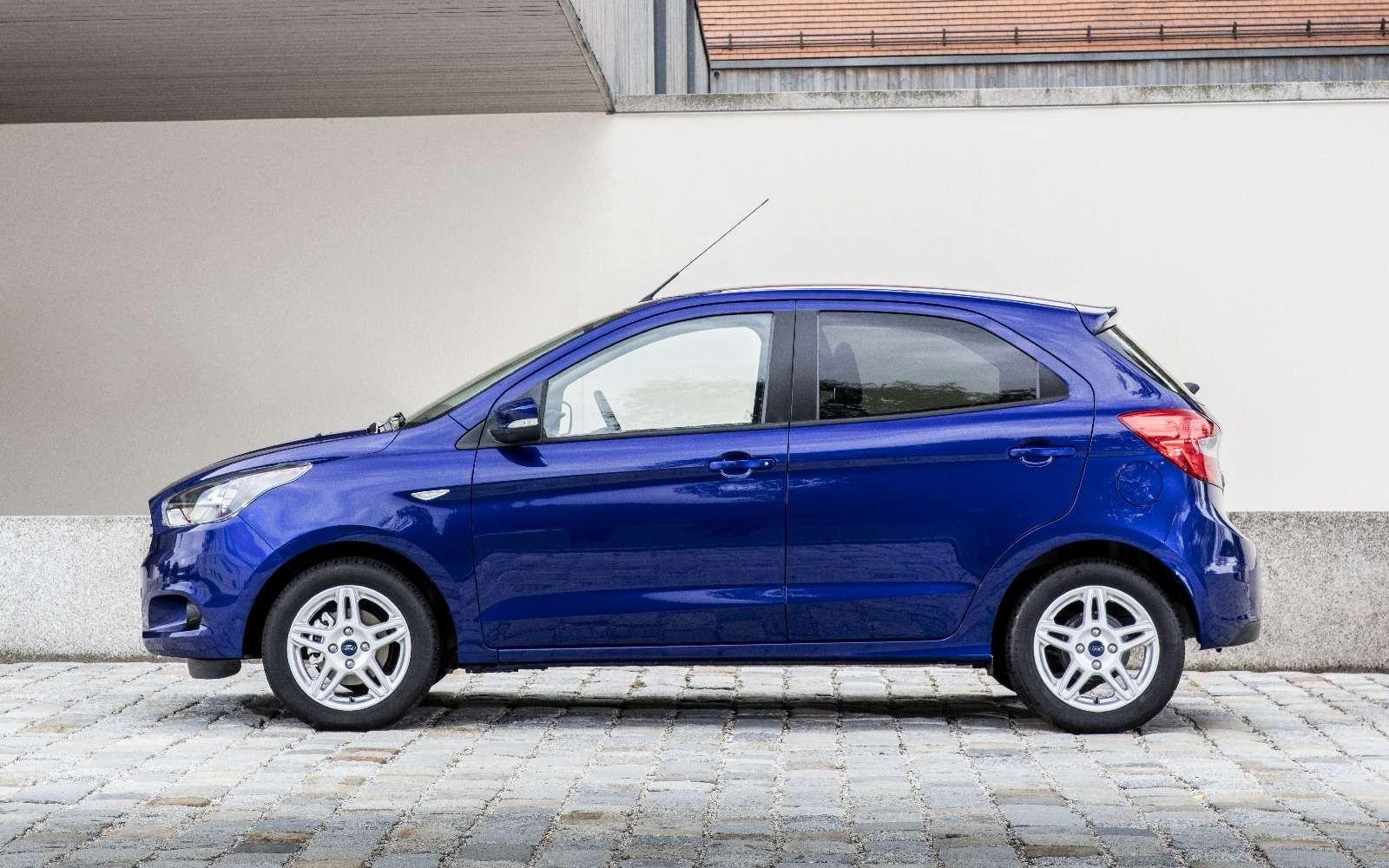 Ford предложил европейцам Фигу сплюсом— фото 596398