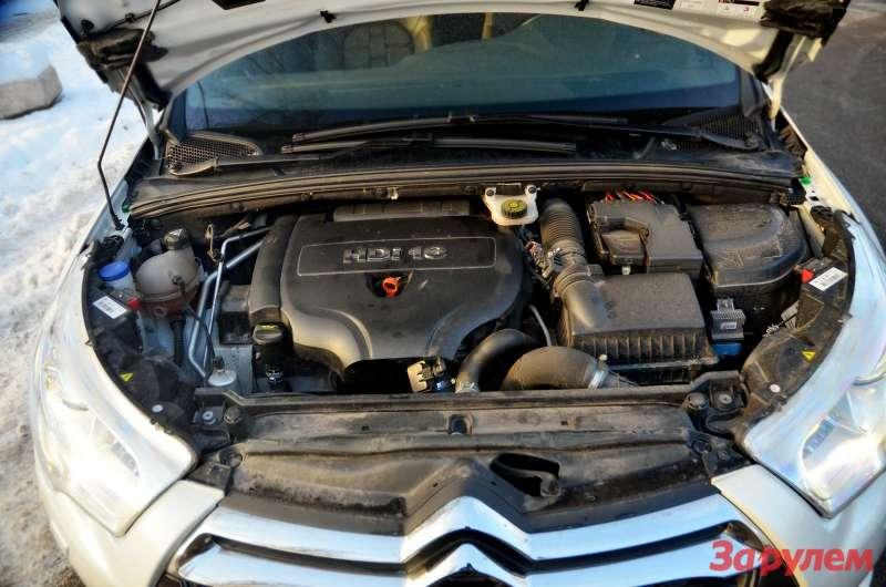 Подкапотом дизельного Citroen DS4