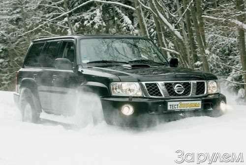 Тест Nissan Patrol, Land Rover Discovery 3, Volkswagen Tuareg. Век нынешний ивек минувший?— фото 55037