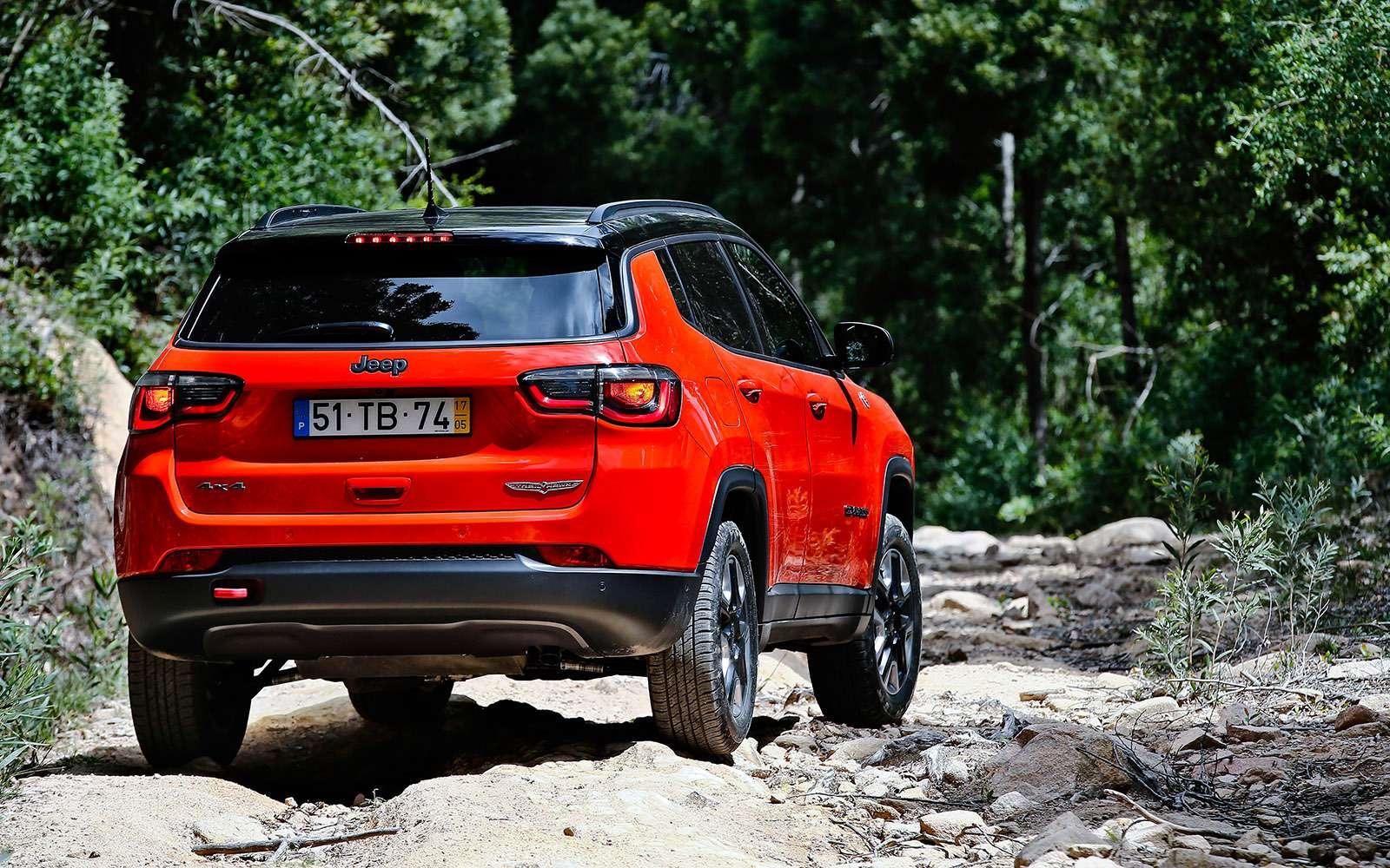 Новый Jeep Compass— тест-драйв ЗР— фото 778115