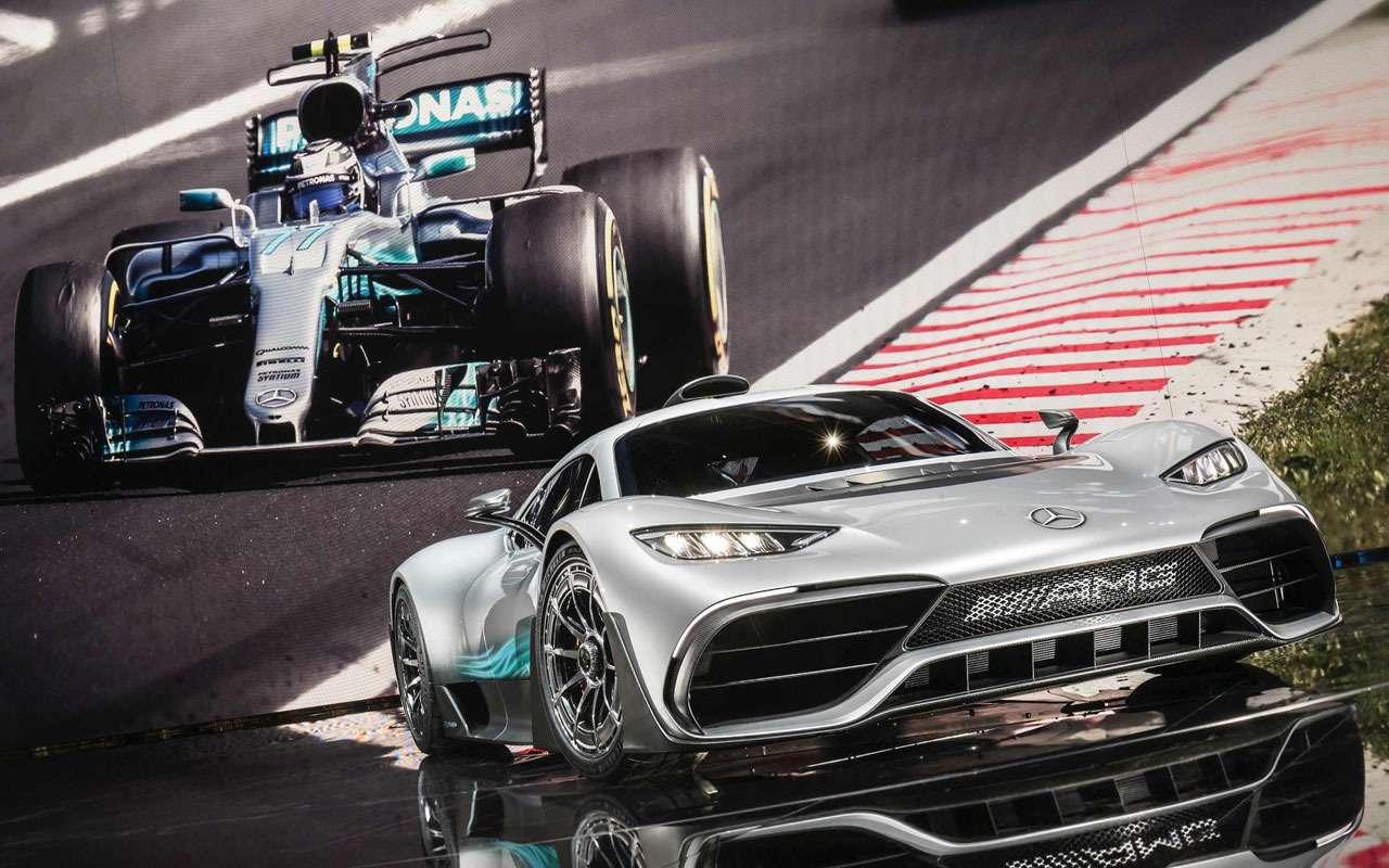 Симулятор Mercedes-AMG— геймерам ине снилось— фото 1208956
