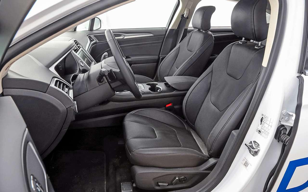Toyota Camry против конкурентов— сравнительный тест— фото 882445
