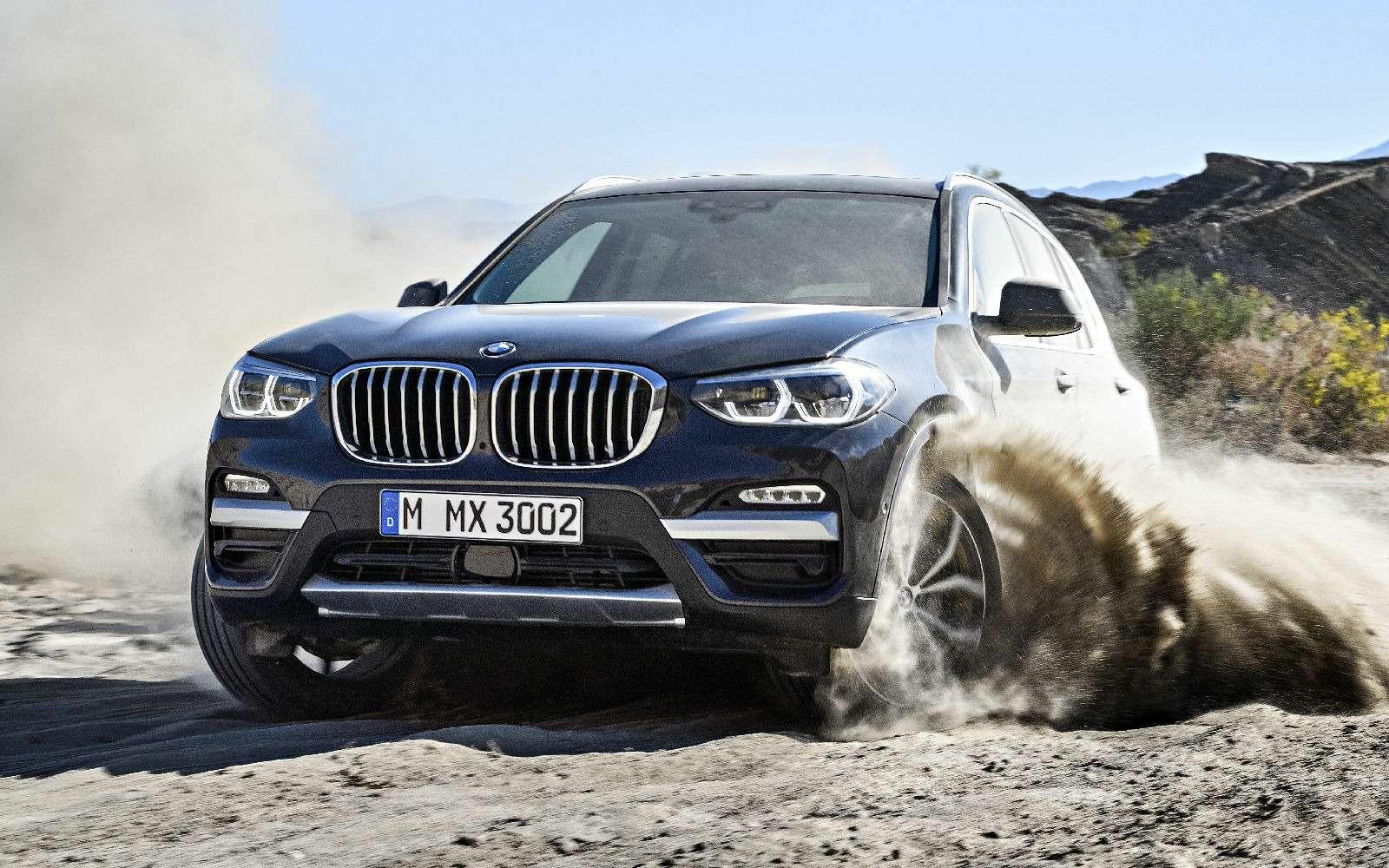 Новый BMW X3оказался крупнее старого Х5— фото 768553