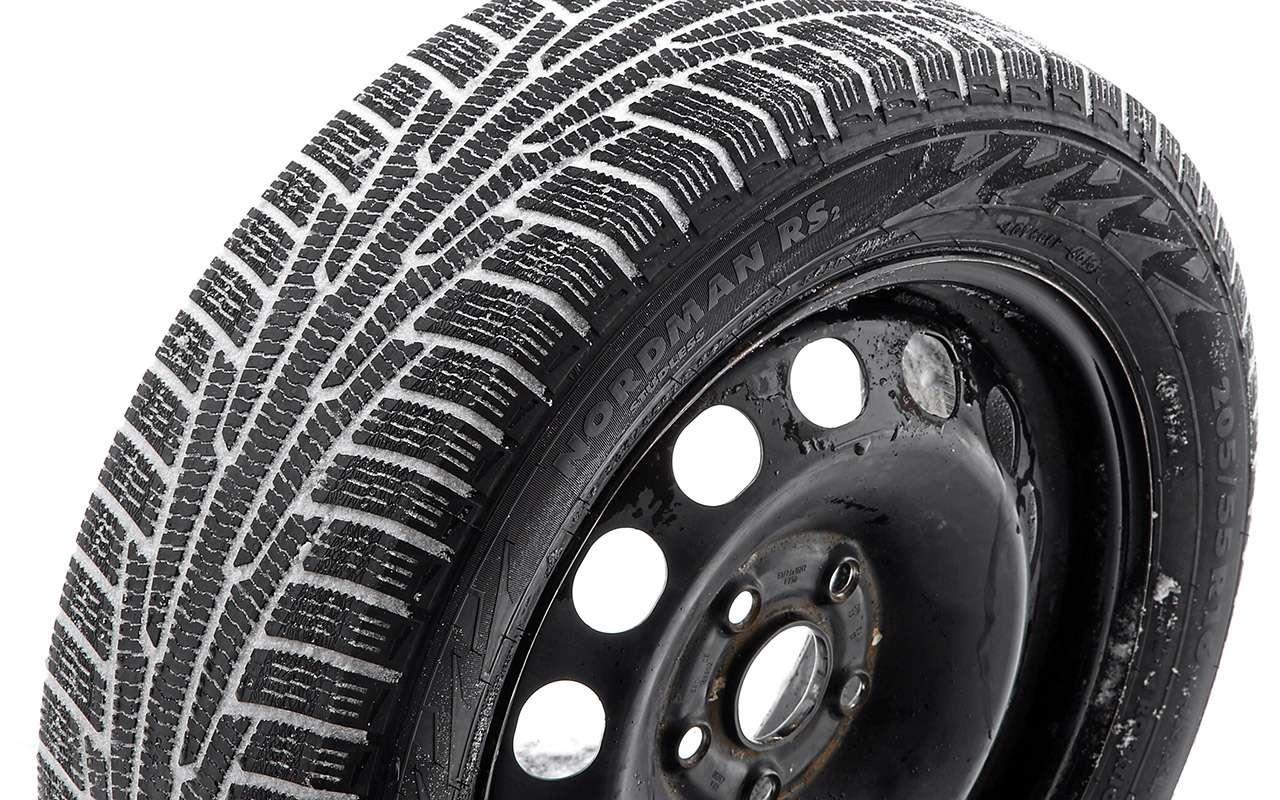 Нешипованные шины длямашин гольф-класса— большой тест ЗР— фото 807221