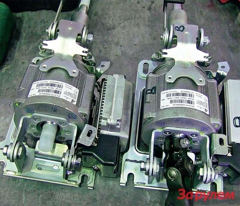 Слева— дефектный усилитель, 2172-3450008-02. Справа— его новая модификация, индекс 702.