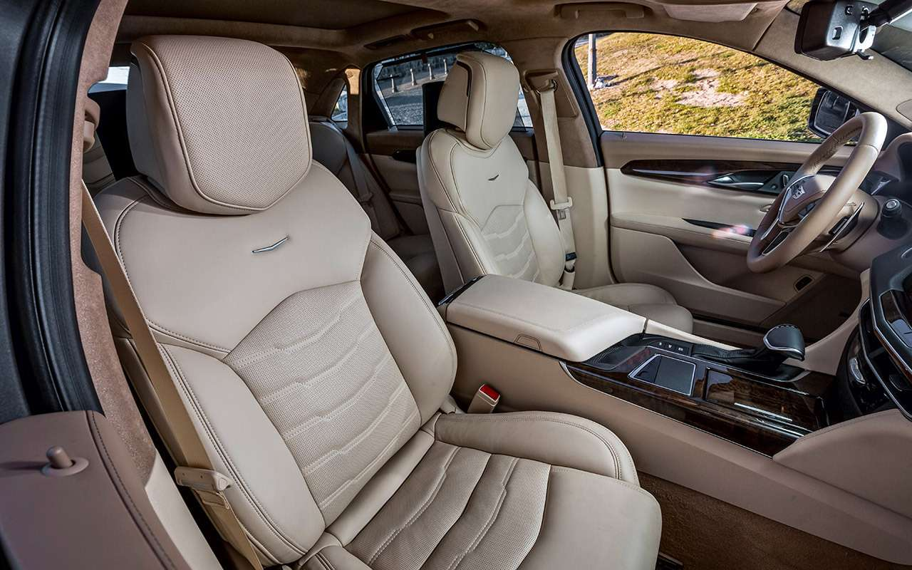 Cadillac CT6: тест-драйв соглядкой наТрампа— фото 867846