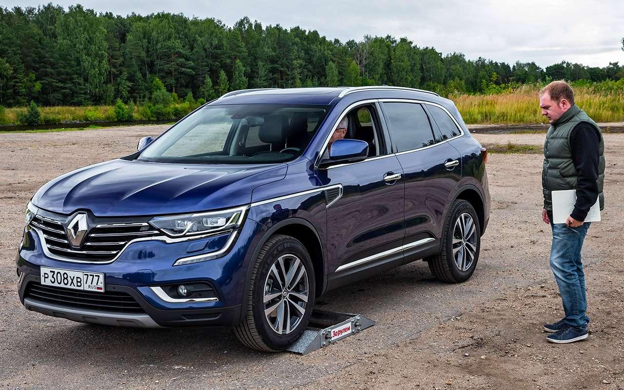 Hyundai Creta или Renault Koleos: чей полный привод круче? Часть 1— фото 825640