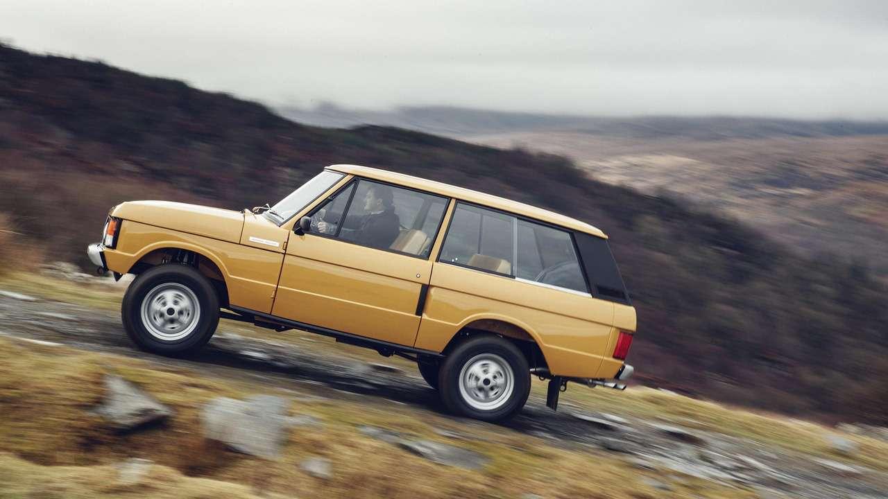 Соннаяву: Land Rover возобновил выпуск классического Рейндж Ровера— фото 702076