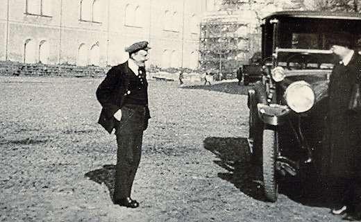 Ленин иавтомобиль