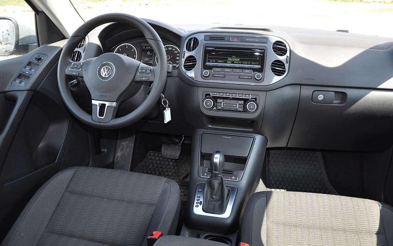 Volkswagen Tiguan спробегом: как не купить хлам— фото 978657