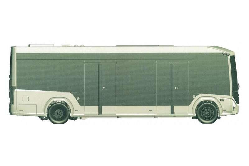 ГАЗзапатентовал городской электробус e-CityMAX-9