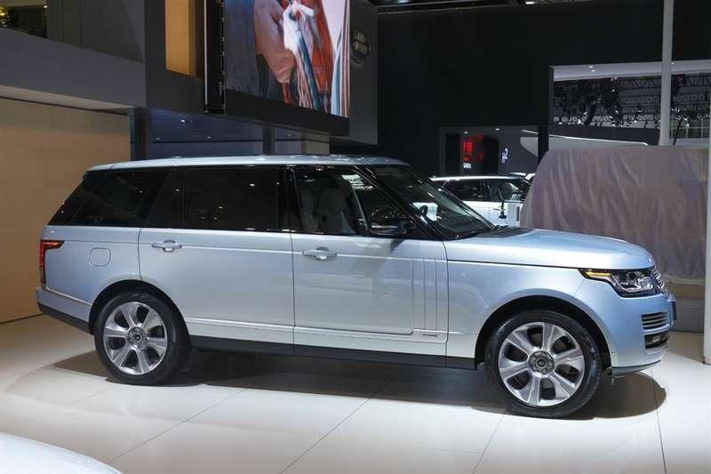 Land Rover привез вПекин концепт Discovery Vision иудлиненный Range Rover сгибридной установкой