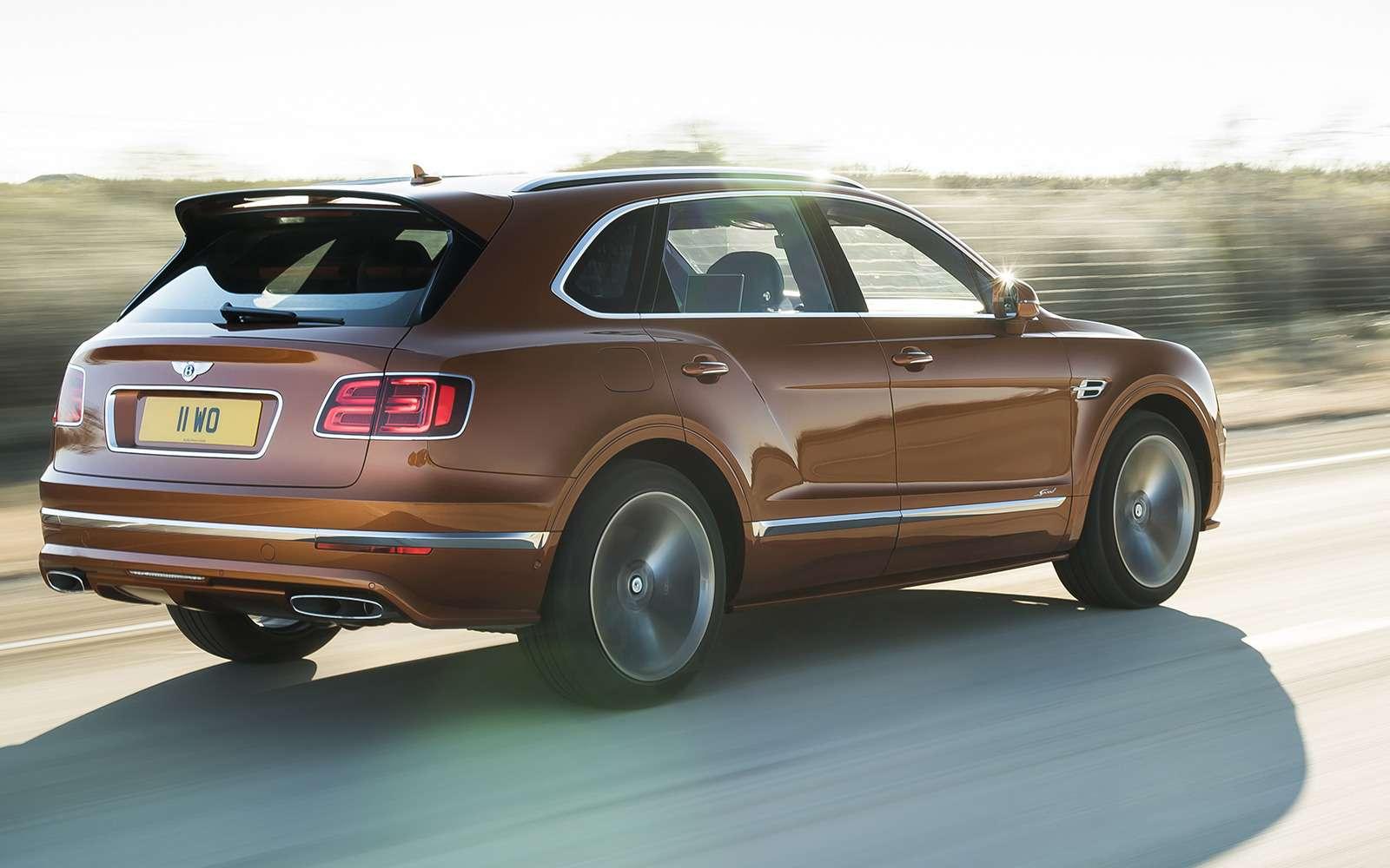 Самый быстрый внедорожник— теперь это Bentley— фото 949163