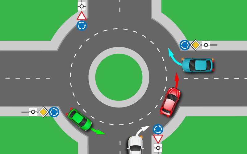 80%точно ошибутся. Авысможете проехать круг без ДТП?