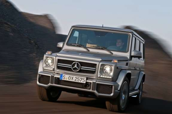 Mercedes-Benz G63AMG side-front view