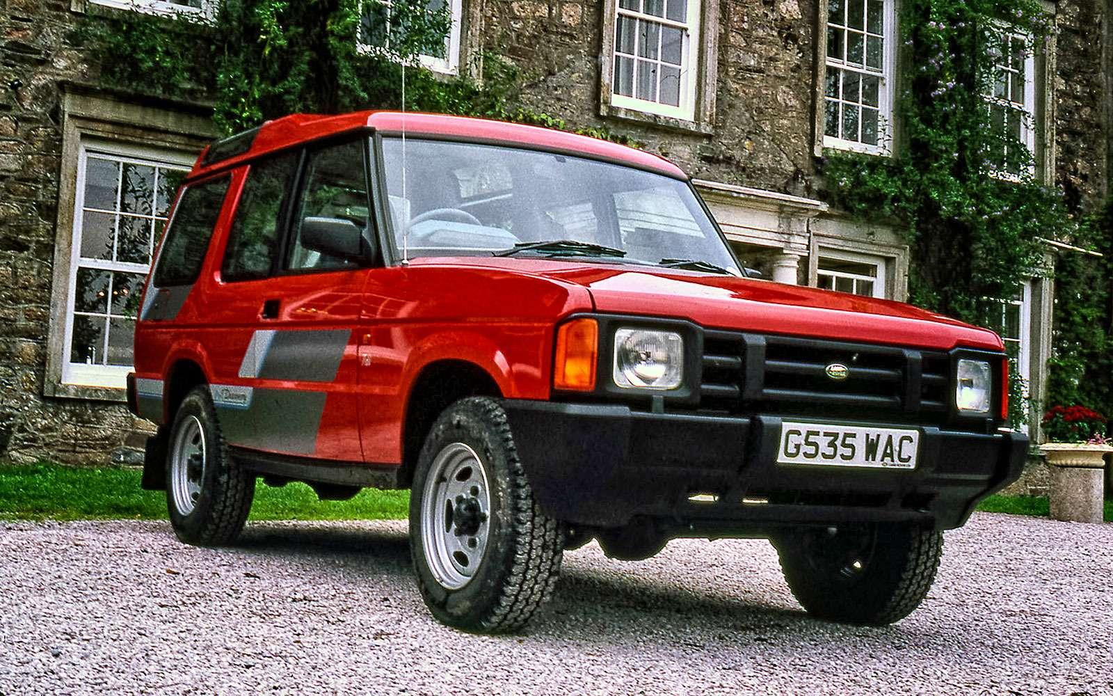 История Land Rover вкартинках: жить полной жизнью— фото 620645
