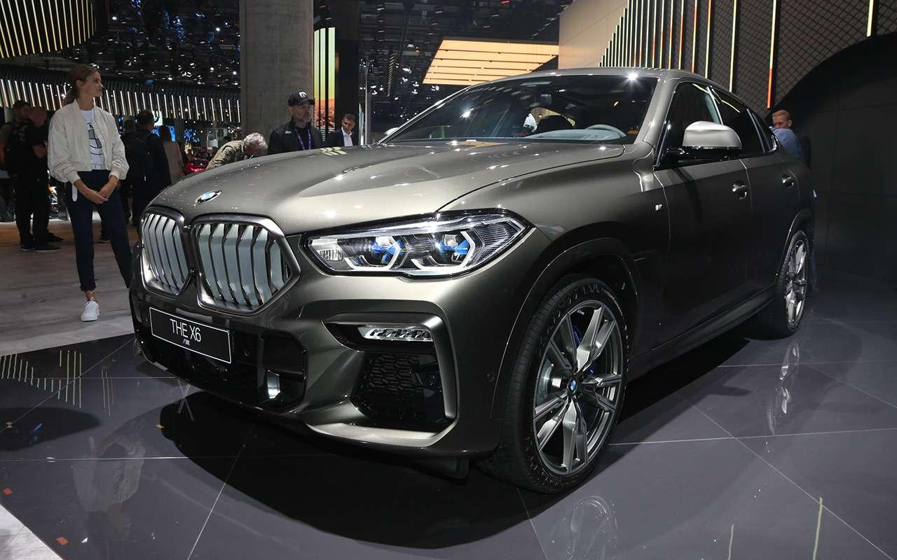 Новый BMW X6с памятью напоследние 50м пути: это как?— фото 995362