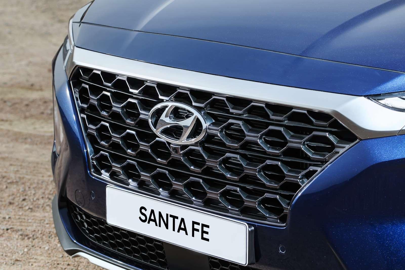 Hyundai рассказала все подробности оSanta Feчетвертого поколения— фото 847667