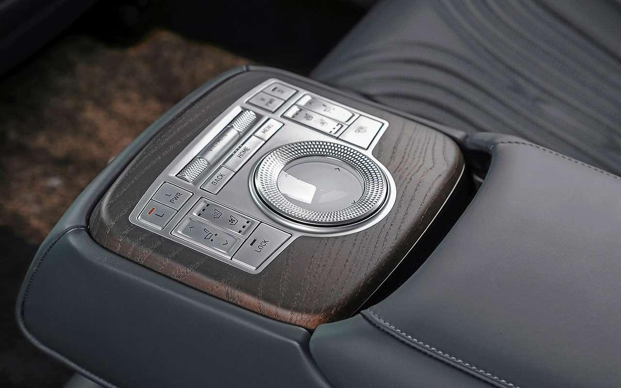 Тест бизнес-седана Genesis G80— фото 1247111