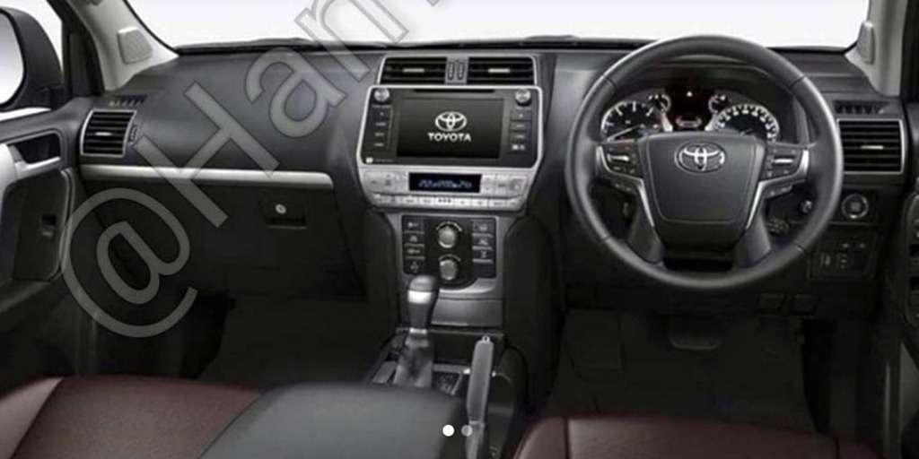 Обновленный Toyota Land Cruiser Prado— первые фотографии— фото 768323