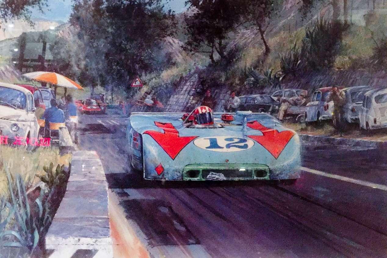 Машина маслом: автомобили вживописи— фото 610761
