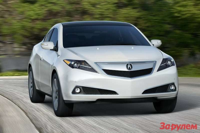 2013 Acura ZDX side-front view 2