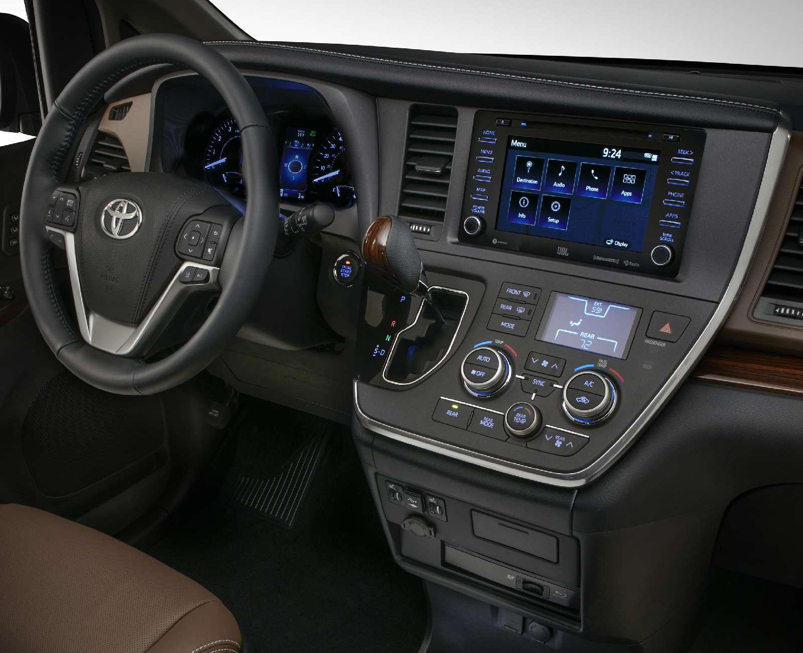 Одиссей непройдет: Toyota Sienna пережила рестайлинг— фото 726148