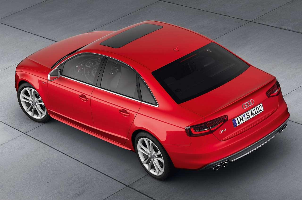 Audi S4/Standaufnahme