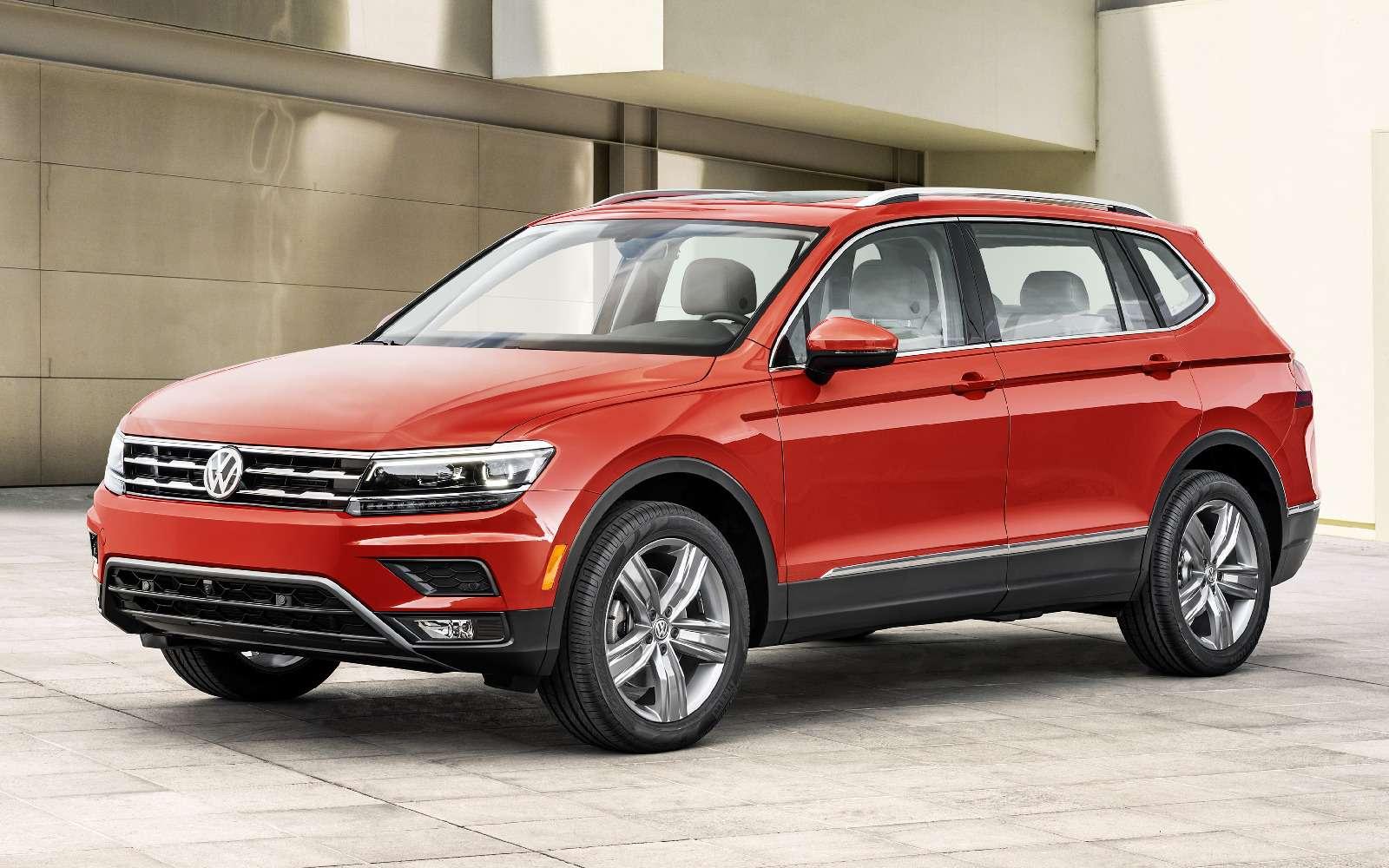 Volkswagen Tiguan Allspace: наконец-то без DSG!— фото 690137