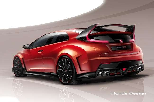 В Женеве Honda покажет концепт Civic Type R