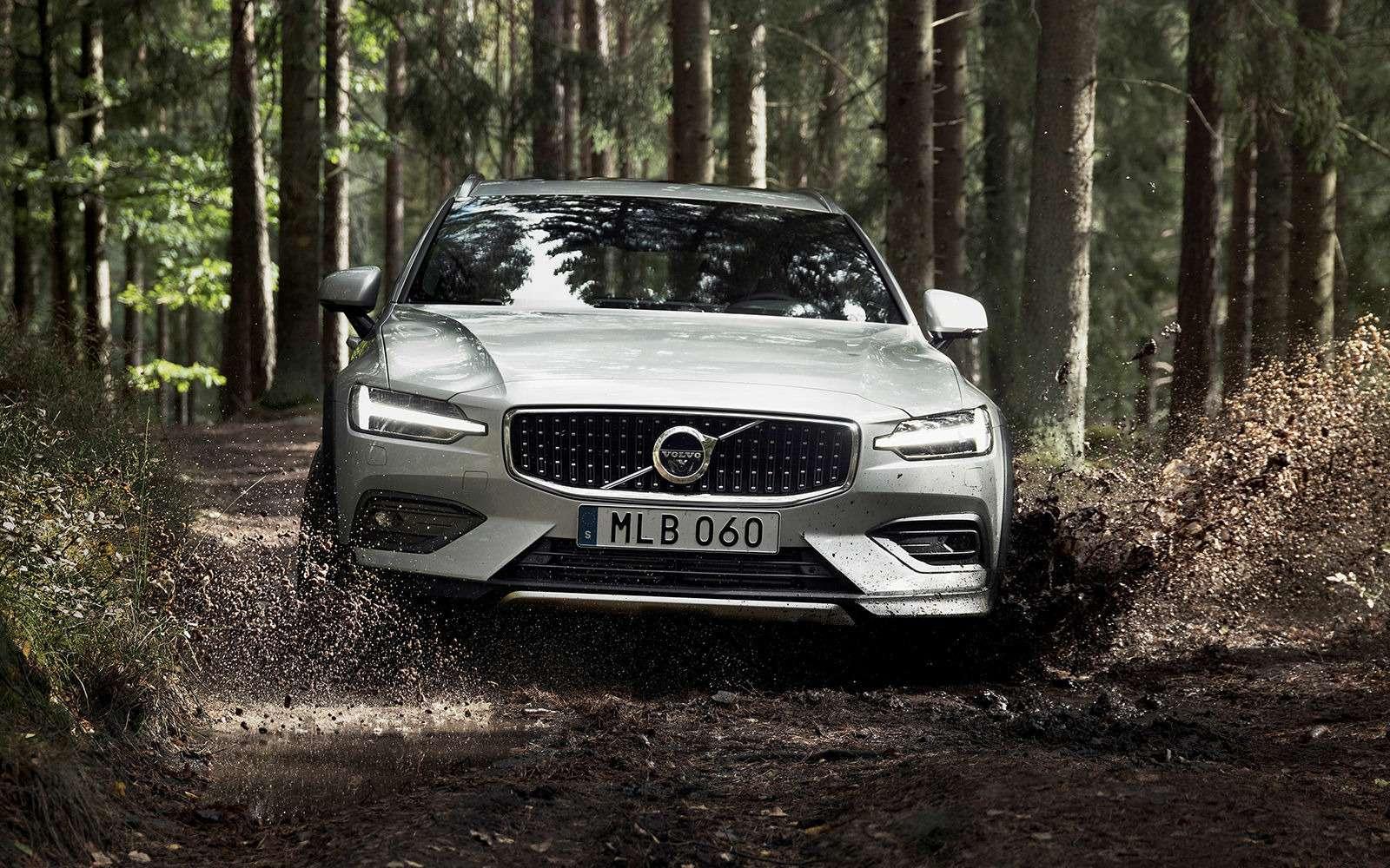 Volvo V60 Cross Country: еще один кросс-универсал. Ждем вРоссии!— фото 908318