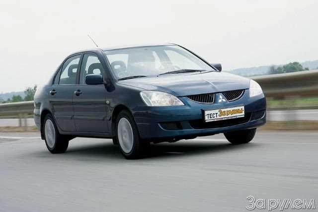 Тест Ford Focus II, Renault Megane, Mitsubishi Lancer. Двое наодного— фото 58305
