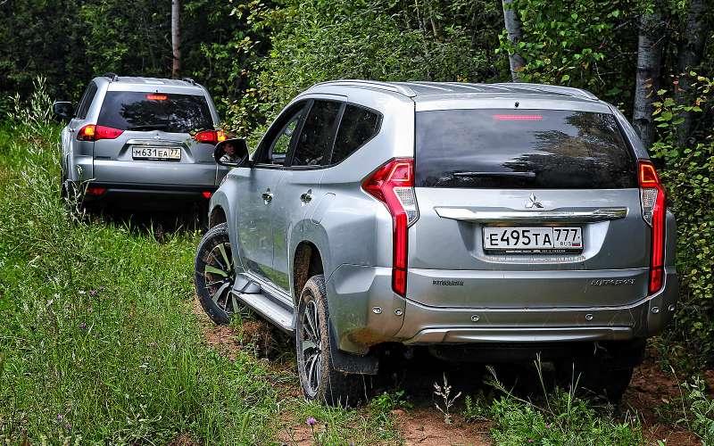 Новый Mitsubishi Pajero Sport против старого: другая лига