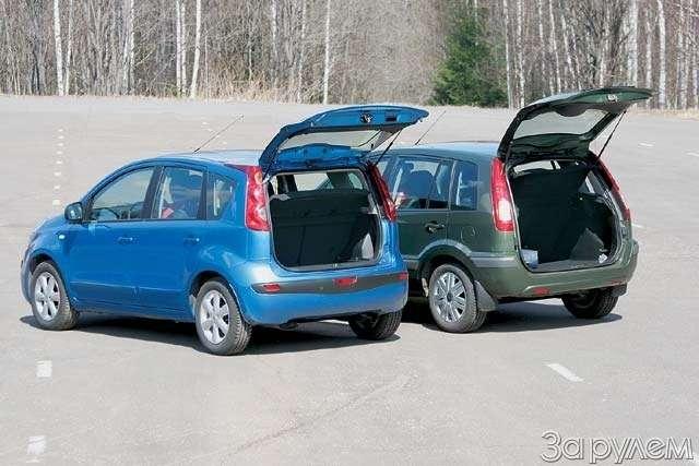 Тест-драйв Ford Fusion, Nissan Note. НОТКА ПРЕВОСХОДСТВА— фото 65000