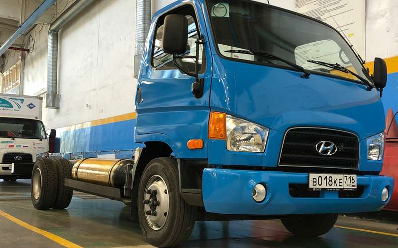 Hyundai переводит свои грузовики нагаз