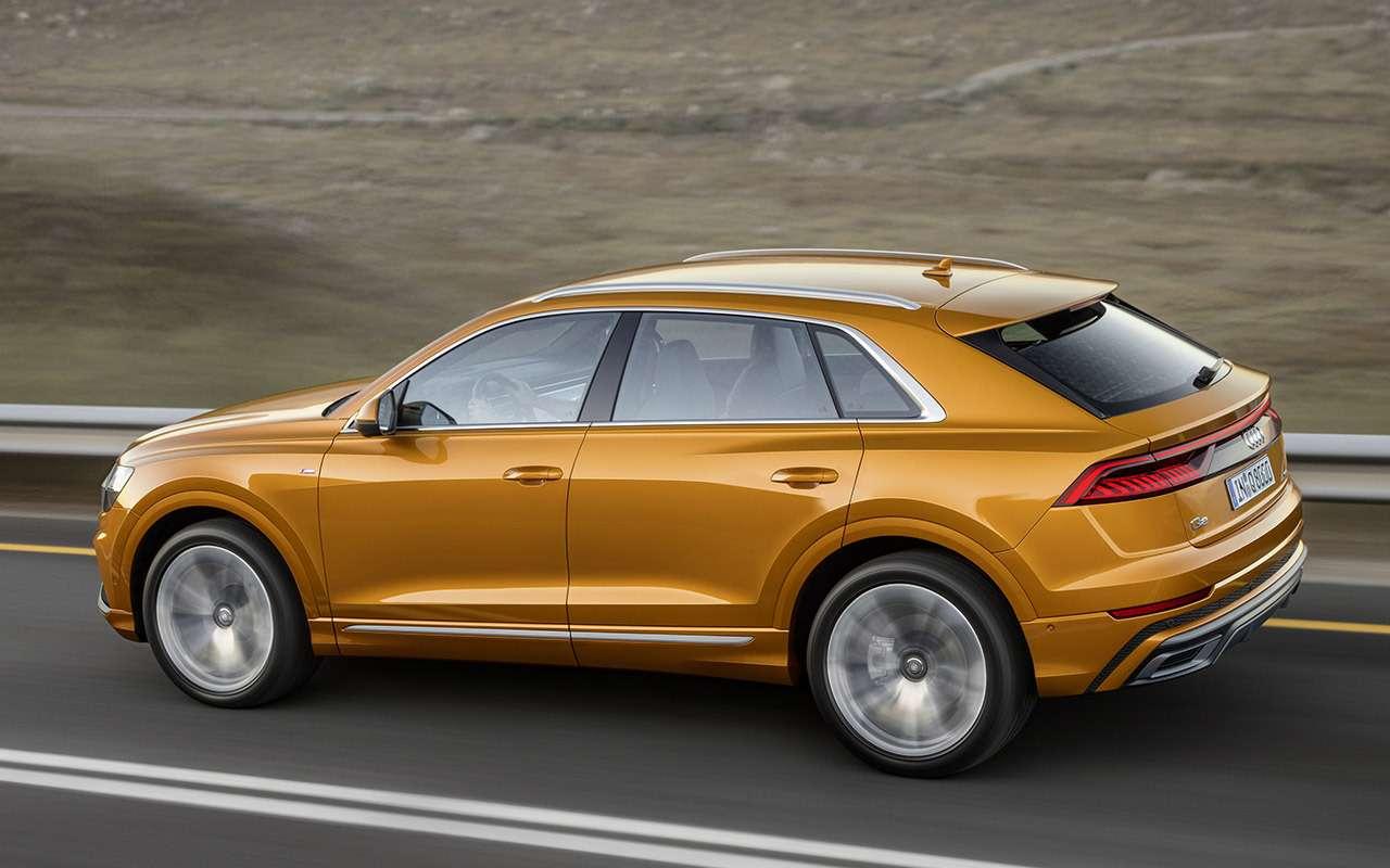 Новый Audi Q8: когда восемь меньше семи— фото 882152