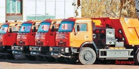 Газобаллонные КАМАЗы сразличными надстройками уже  несколько лет выпускает вЧелнах компания «РариТЭК»
