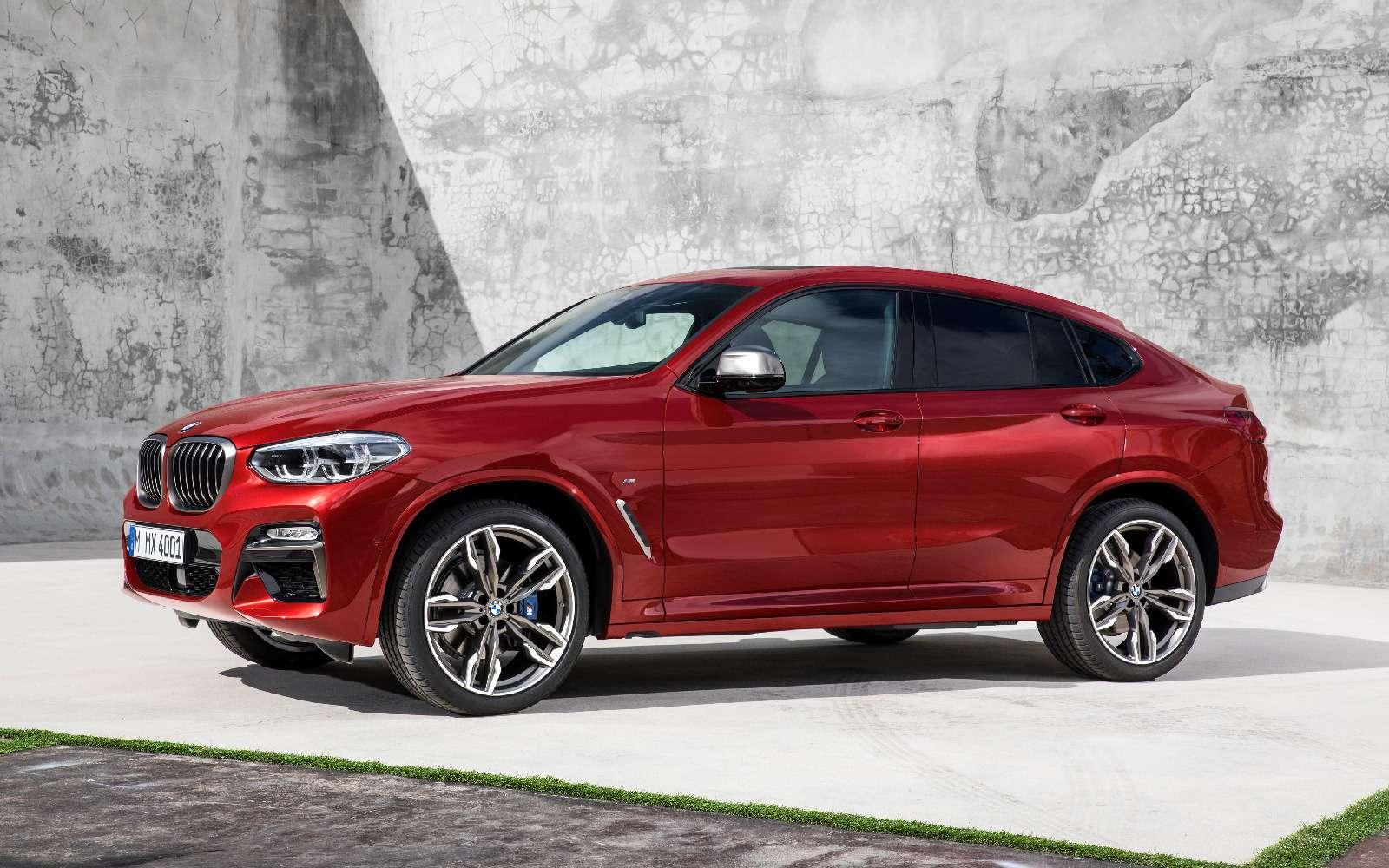 Новый BMW X4: искусство маскировки— фото 844915