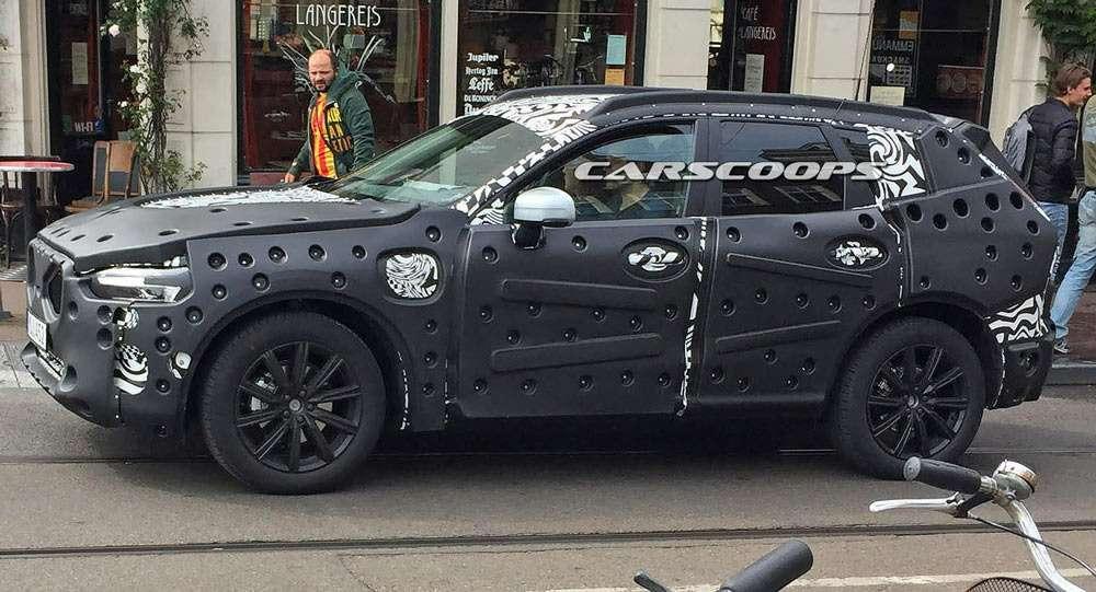 «Шестидесятый», ваш выход: новый кроссовер Volvo попал вобъектив— фото 599214