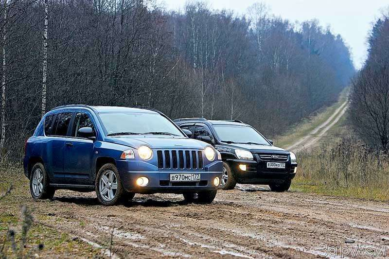 Тест Jeep Compass, Kia Sportage. Смешать, ноне взбалтывать— фото 70561