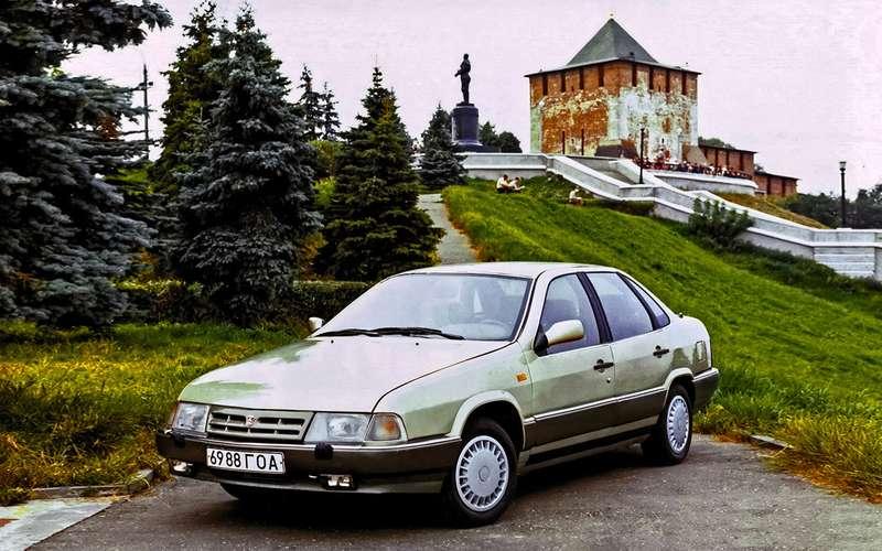 ГАЗ‑3103и другие Волги, которых никто неувидел