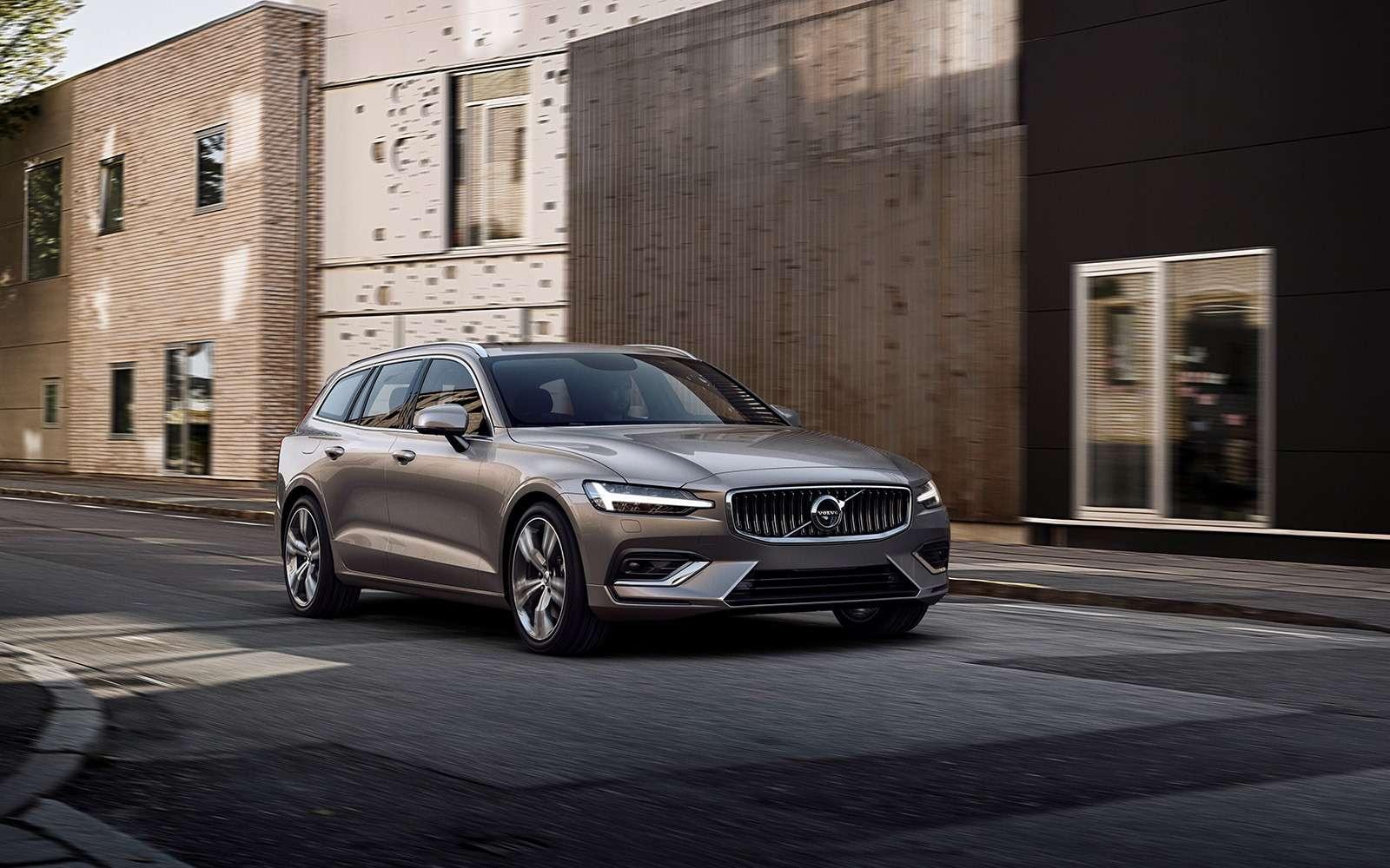 Volvo представила V60: семейный, роскошный ине длянас— фото 847560