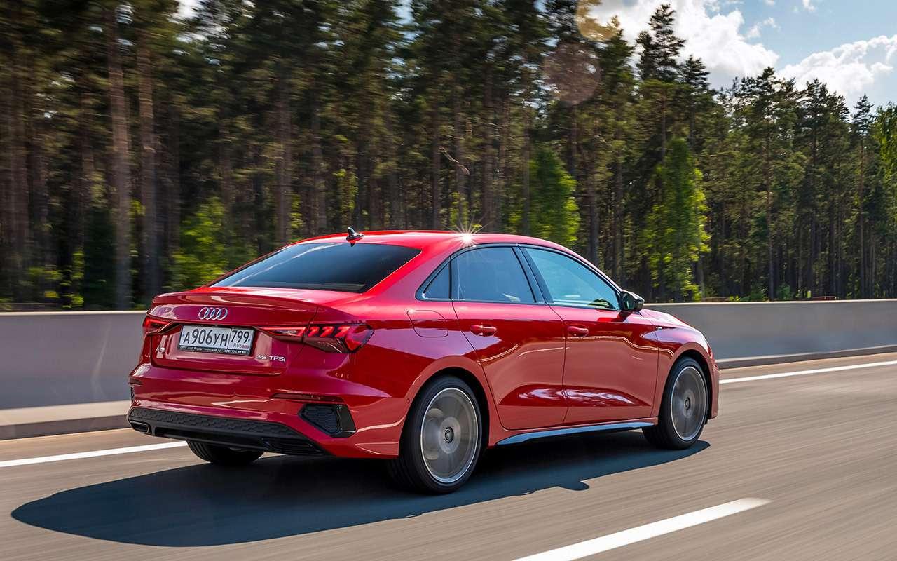 Новый Audi A3: вам седан или Sportback?— фото 1272055