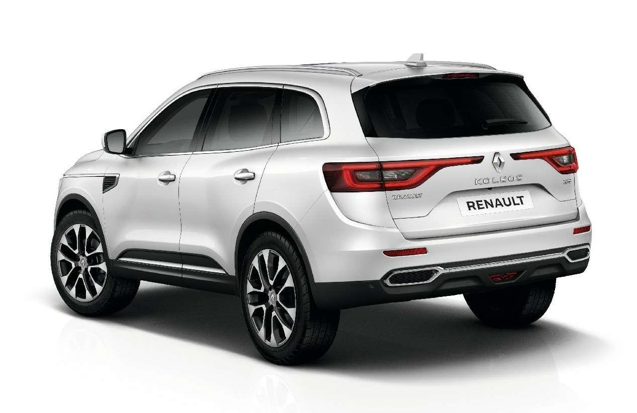 Новый Renault Koleos: только 5мест икитайская сборка— фото 580031