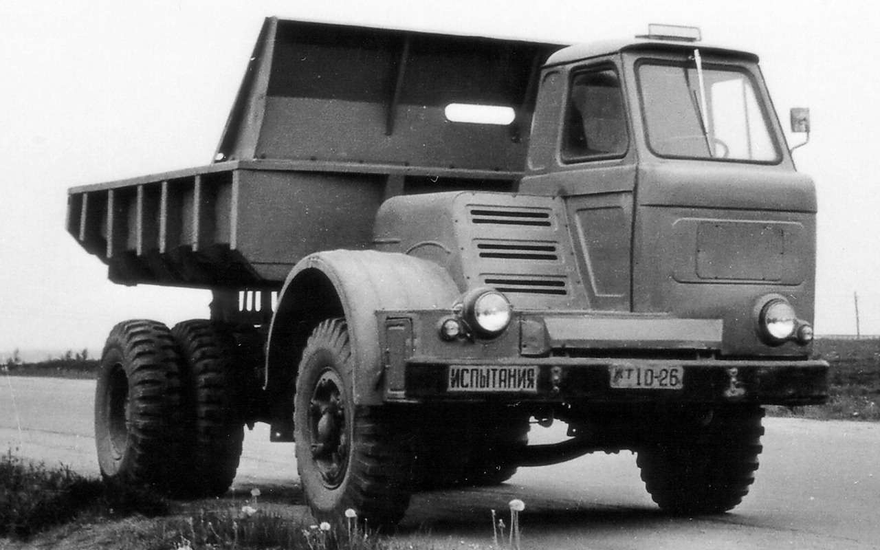 Наши грузовики, которых выникогда не видели— фото 875237