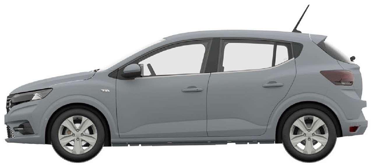 Renault запатентовала новый Sandero вРоссии